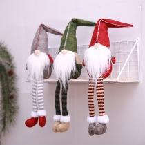 Nette Weihnachtsdekoration Puppe ohne Gesicht