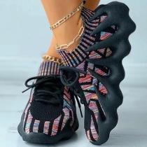 Sneakers stricken Schuhe Kokosnuss-Schuhe mit weicher Sohle