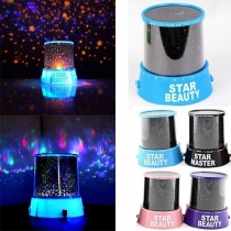 Romantisch LED Stars Projektor Kosmos-Projektor-LED-Lampe