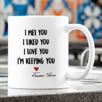 PERSONALISIERTER BECHER: Süßestes Geschenk für Sie und Ihn - Tasse