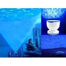 Romantische LED-Nachtlicht Lampe Ozean Welle Licht Projektor Projektion-Lampe