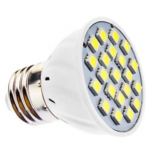 E27 3W 21x5050SMD 210-240LM 6000-6500K Natural White Light LED Spot Bulb (110V/220-240V)
