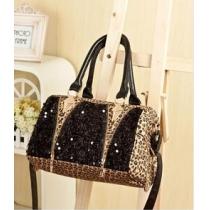 Cool Leopard Shiny Sparking Handbag Shoulder Bag