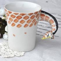 Giraffe Handgemachte Kaffeetasse