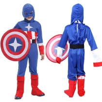 Cosplay American Small Soldiers Costumes Kids Performance Clothing