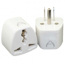 Grounded Universal Plug Adapter